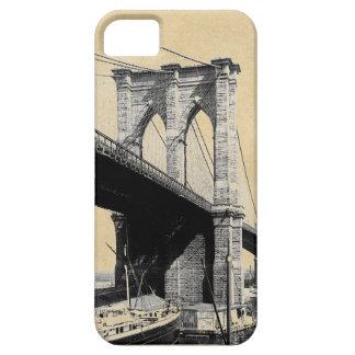 Coque iPhone 5 Case-Mate Ferrys-boat 1896 de pont de Brooklyn