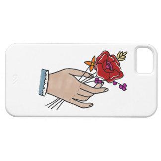 Coque iPhone 5 Case-Mate Fleurs Phonecase. de //de main