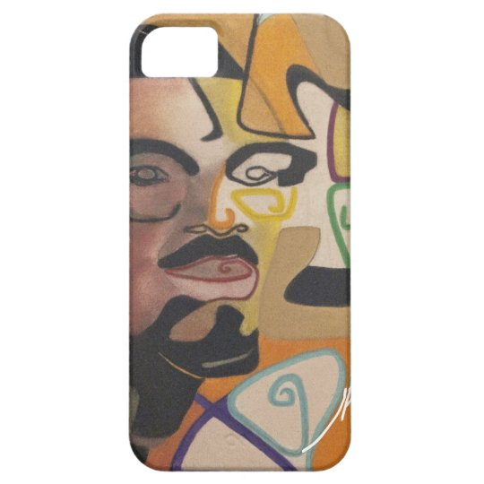 Coque iPhone 5 Case-Mate Freedom fighter - Lumumba by J. Kabinda