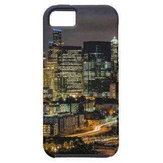 Coque iPhone 5 Case-Mate Horizon de Seattle la nuit