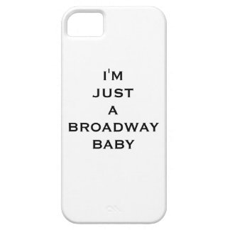 Coque iPhone 5 Case-Mate I'm just broadway baby funda iphone