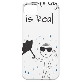 Coque iPhone 5 Case-Mate La lutte d'échouer de parapluie est vraie