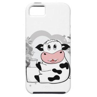 Coque iPhone 5 Case-Mate Lait boisson de vache