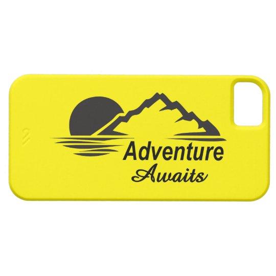 Coque iPhone 5 Case-Mate L'aventure attend la nature grande dehors