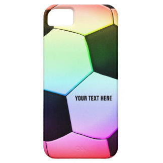 Coque iPhone 5 Case-Mate Le football Girly coloré du football |