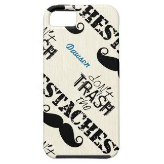 Coque iPhone 5 Case-Mate Le motif de moustache de Stache