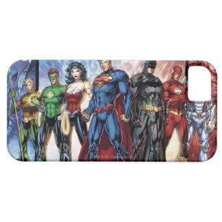 Coque iPhone 5 Case-Mate Ligne de ligue de justice 52 de la ligue de