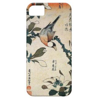 Coque iPhone 5 Case-Mate Perroquet et fleurs