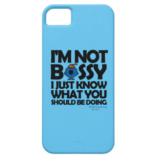 Coque iPhone 5 Case-Mate Petite Mlle Bossy Just Knows