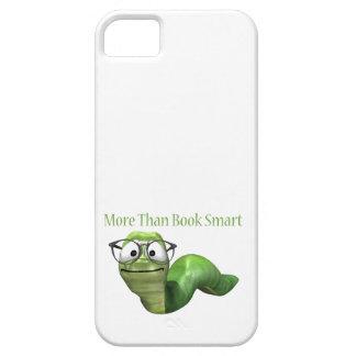 Coque iPhone 5 Case-Mate Plus que le ver de livre futé de livre