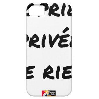 Coque iPhone 5 Case-Mate PROPRIÉTÉ PRIVÉE - Jeux de mots - Francois Ville