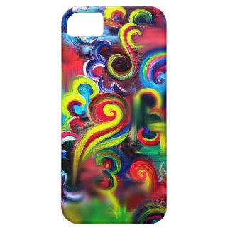 Coque iPhone 5 Case-Mate Remous multicolores