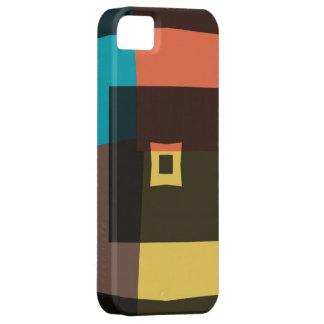 Coque iPhone 5 Case-Mate Rétros carrés 4 de Jacquard