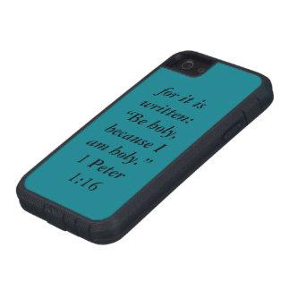 """Coque iPhone 5 Case-Mate """"Soyez"""" Iphone saint 5/5S et cellule extrême dure"""