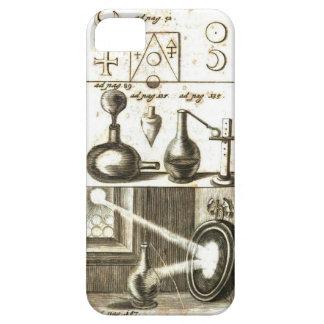 Coque iPhone 5 Case-Mate Symboles et outils d'un alchimiste