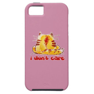 Coque iPhone 5 chat insouciant se reposant revenu
