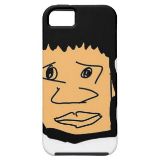 Coque iPhone 5 collection philippine de visage de bande dessinée