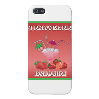 Coque iPhone 5 Daiquiri de fraise