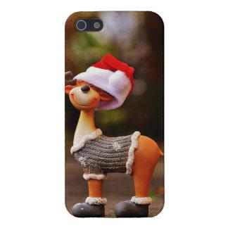 Coque iPhone 5 Décorations de renne - renne de Noël