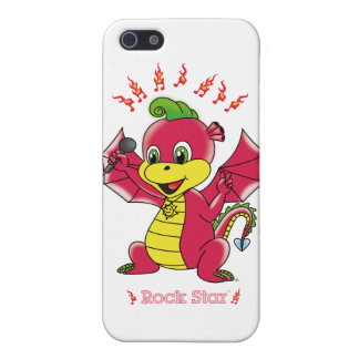 Coque iPhone 5 Dragon Rockstar™