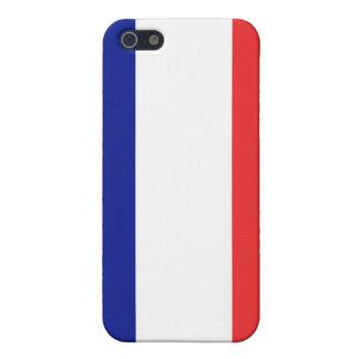 Coque iPhone 5 Drapeau de Français Tricolore de la France