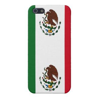 Coque iPhone 5 Drapeau du Mexique