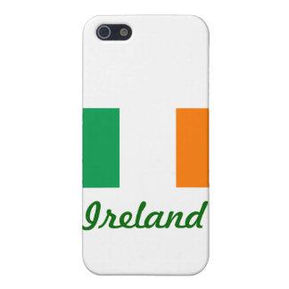 Coque iPhone 5 Drapeau irlandais/jour de St Patrick