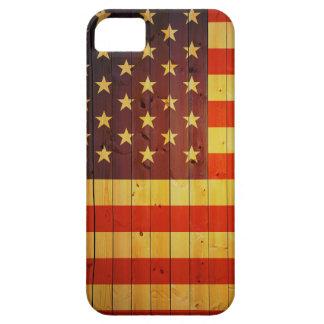 Coque iPhone 5 état uni par bois de flg d'iphone de couverture