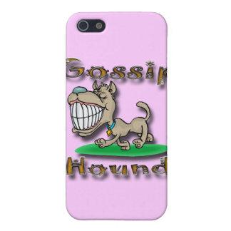 Coque iPhone 5 Gld de chien de bavardage