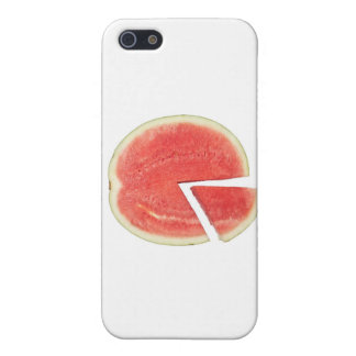 Coque iPhone 5 Graphique circulaire de pastèque
