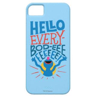 Coque iPhone 5 Grover bonjour