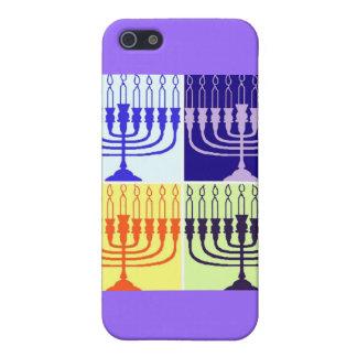 Coque iPhone 5 Hanoukka Menorah