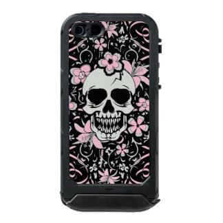 Coque iPhone 5 Incipio ATLAS ID™ Crâne vintage Girly