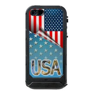 Coque iPhone 5 Incipio ATLAS ID™ Étoile-a orné le style de paillettes