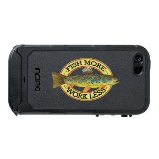 Coque iPhone 5 Incipio ATLAS ID™ Mots drôles de pêche pour un pêcheur