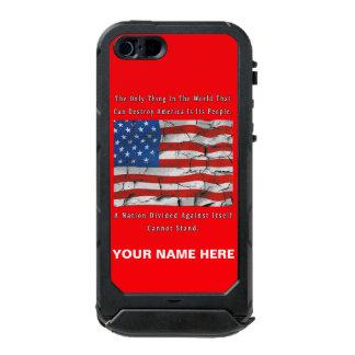Coque iPhone 5 Incipio ATLAS ID™ Une nation divisée