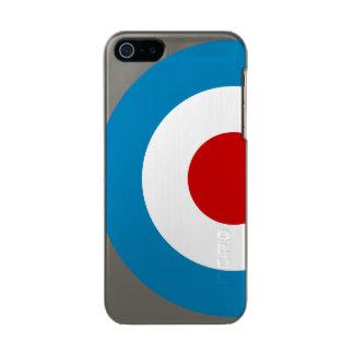 Coque iPhone 5 Incipio Feather® Shine Conception britannique de cible de mod