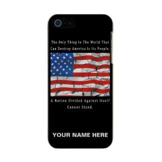 Coque iPhone 5 Incipio Feather® Shine Une nation divisée