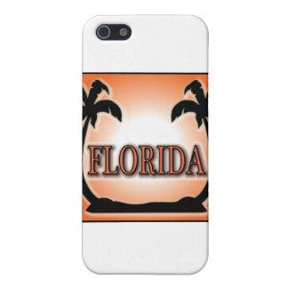 Coque iPhone 5 La Floride a peint à l'aérosol les palmiers