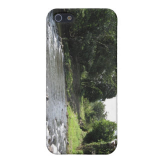 Coque iPhone 5 L'Amérique du Sud sauvage - rivière vintage du
