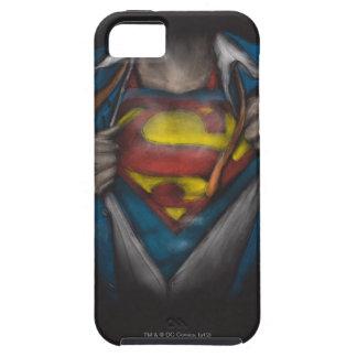 Coque iPhone 5 Le coffre de Superman   indiquent le croquis