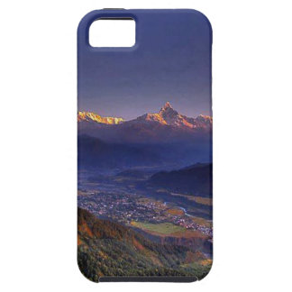 Coque iPhone 5 Le Népal le mont Everest : Glaciers, lacs, vue