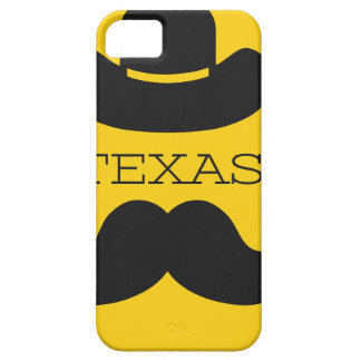 Coque iPhone 5 Le Texas en jaune