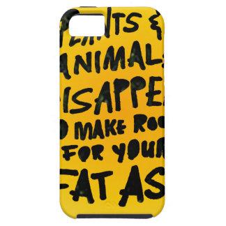 Coque iPhone 5 Les PLANTES et les ANIMAUX DISPARAISSENT…