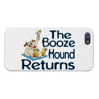 Coque iPhone 5 Les retours de chien de boissons alcoolisées