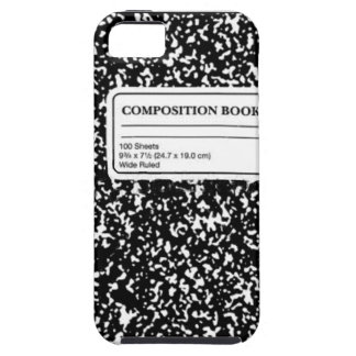 Coque iPhone 5 Livre de composition