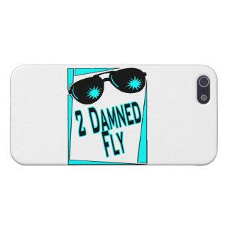 Coque iPhone 5 Lunettes de soleil trop condamnées de mouche