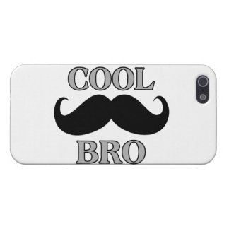 Coque iPhone 5 Moustache fraîche Bro