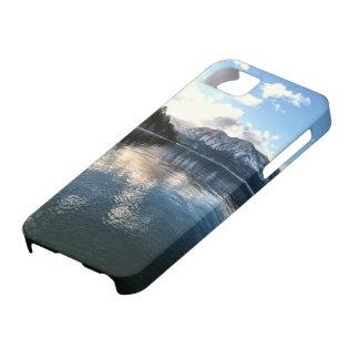 Coque iPhone 5 Neige d'hiver du lac Tahoe