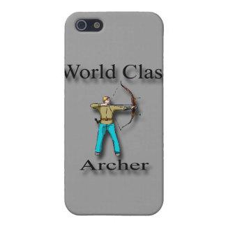 Coque iPhone 5 Noir d'Archer de classe du monde